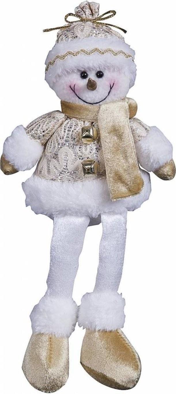 Мягкая игрушка Снеговик (30 см)