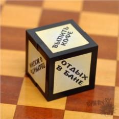 Офисный сувенир Кубик директора