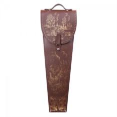 Подарочные шампура в колчане из кожи Архар