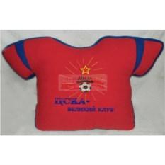 Красная подушка-футболка ЦСКА – великий клуб