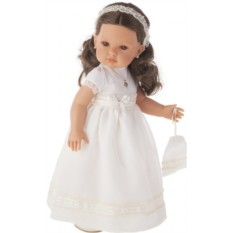 Кукла-девочка Белла. Первое причастие