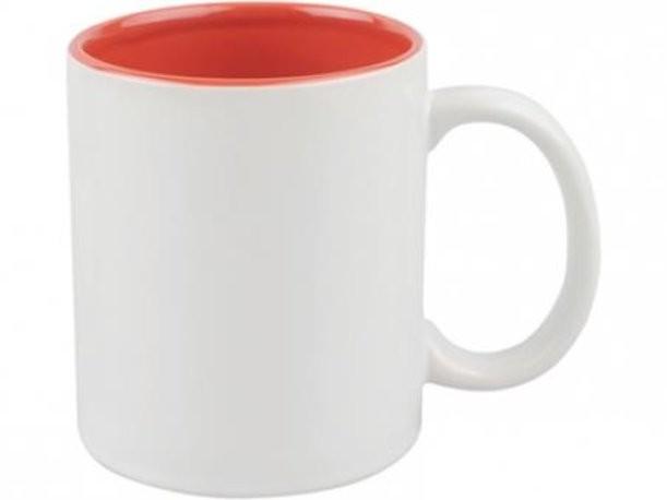 Красно-белая кружка на 320 мл