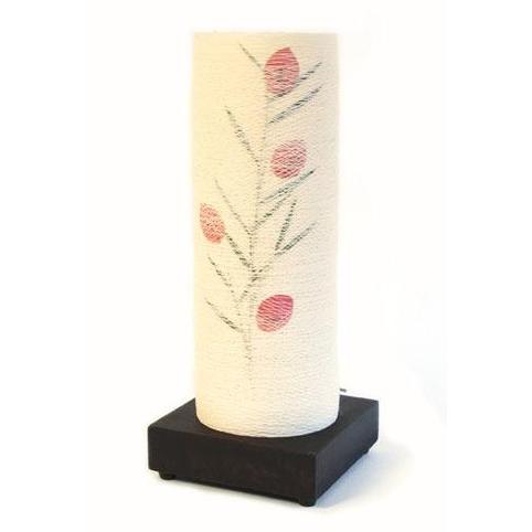 Лампа настольная нитяная с рисунком