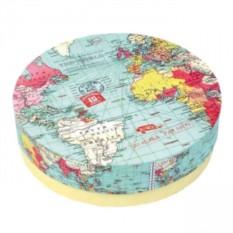 Набор тарелок Карта мира