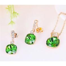 Комплект с кристаллами Сваровски Летний сад