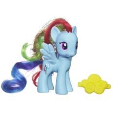 Игрушка My Little Pony Рейнбоу Дэш с аксессуаром от Hasbro