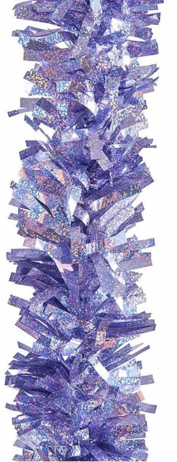 Новогоднее фольгированное украшение Мишура