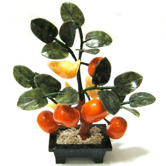 Дерево из 5 мандаринов и слитков