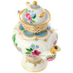 Заварочный фарфоровый чайник Светлый день