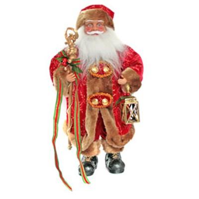Дед мороз с посохом и фонарем