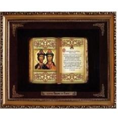 Православное панно Борис и Глеб
