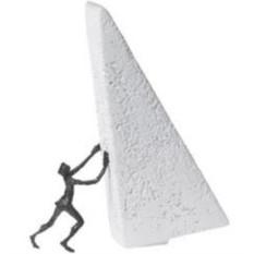Скульптура Сдвину горы