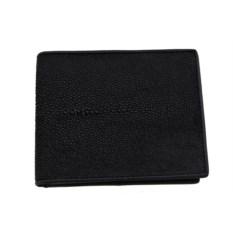 Мужской кошелек с окошком для удостоверения из кожи ската