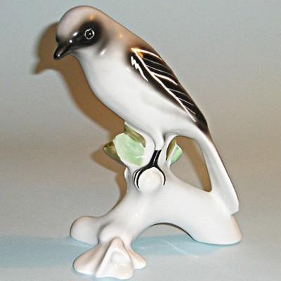 Винтажная статуэтка птица Скромница