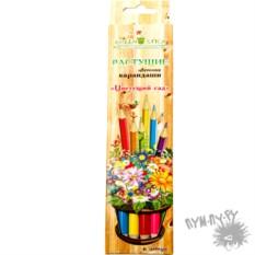 Растущие цветные карандаши Цветущий сад (6 шт.)