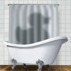 Занавеска для ванны «Тень утки»