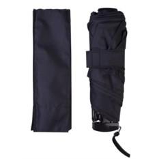 Черный зонт Unit Slim
