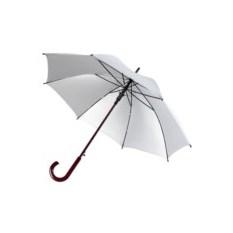 Серебристый зонт-трость Unit Standard