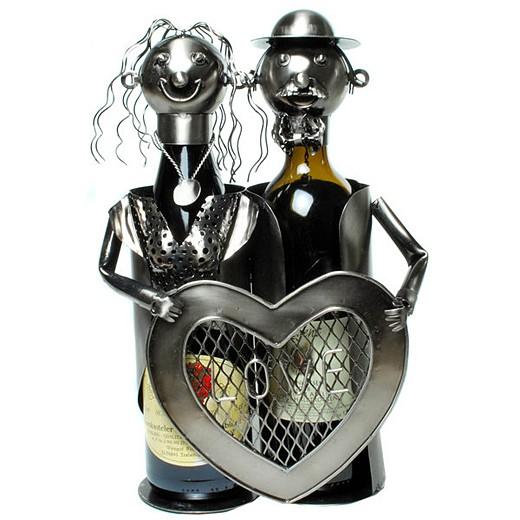 Подставка для бутылки Сердце на двоих