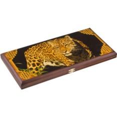 Большие нарды Леопард