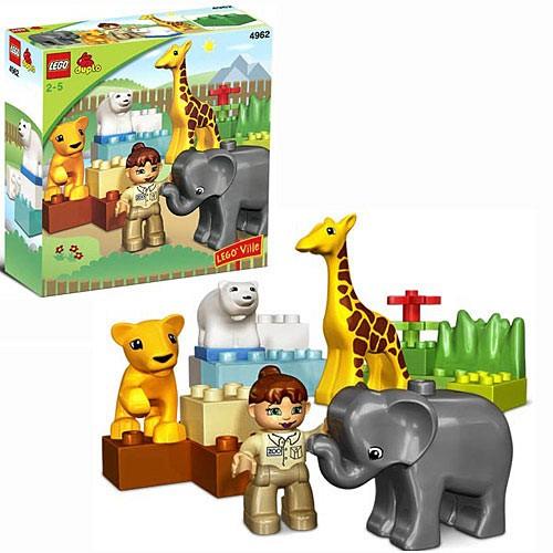 Конструктор Lego Duplo Зоопарк для малышей