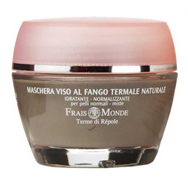 Успокаивающая маска для лица с термальной глиной Frais Monde