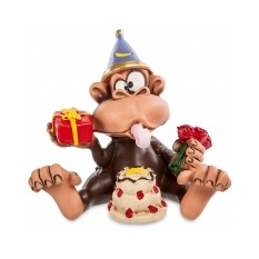 Забавная фигурка обезьянки «Днюха»
