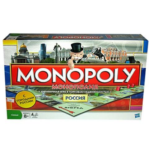 Настольная игра Hasbro Монополия. Россия