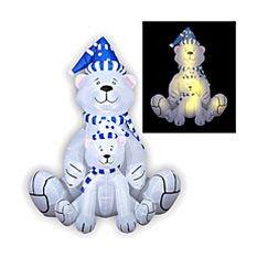 Надувная фигура Белые медведи