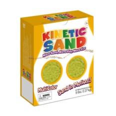 Желтый кинетический песок (2,27 кг)