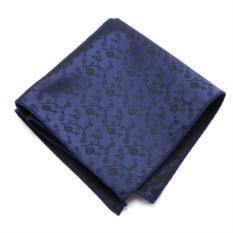Нагрудный платок (синий узор)