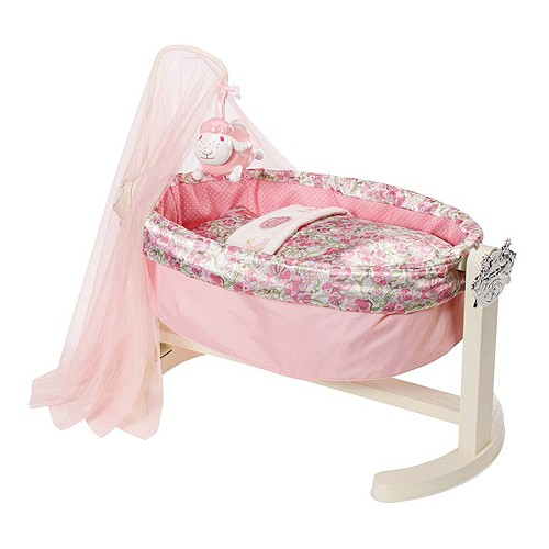 Колыбель с ночником для куклы Zapf Creation Baby Annabell