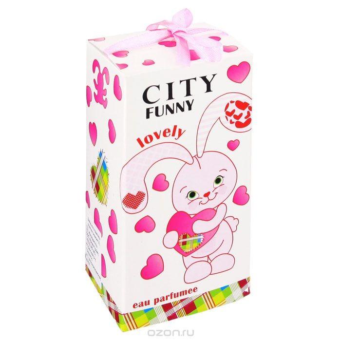 Душистая детская вода Lovely (City Funny), 30 мл