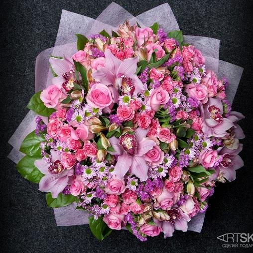 Букет цветов Праздничная роскошь