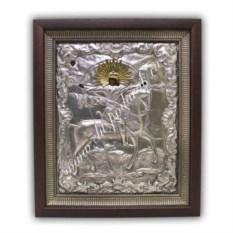 Икона Архистратиг Михаил (размер: 320х370х40 мм)