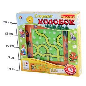 Логическая игра для детей bondibon Следопыт, колобок