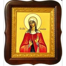 Анфиса Римская Святая мученица. Икона на холсте.