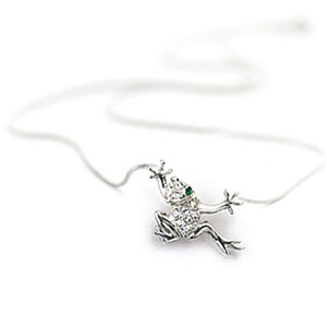 Цепочка с кулоном «Лягушка»