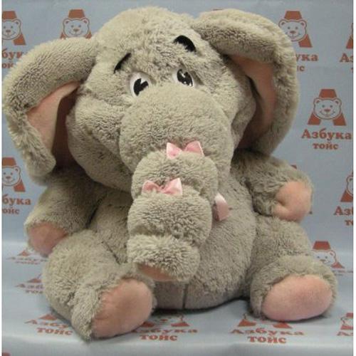 Мягкая игрушка слониха
