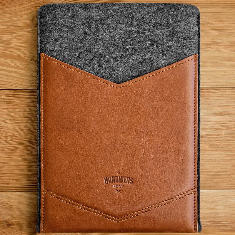 Чехол для iPad mini Welt тёмно-серый