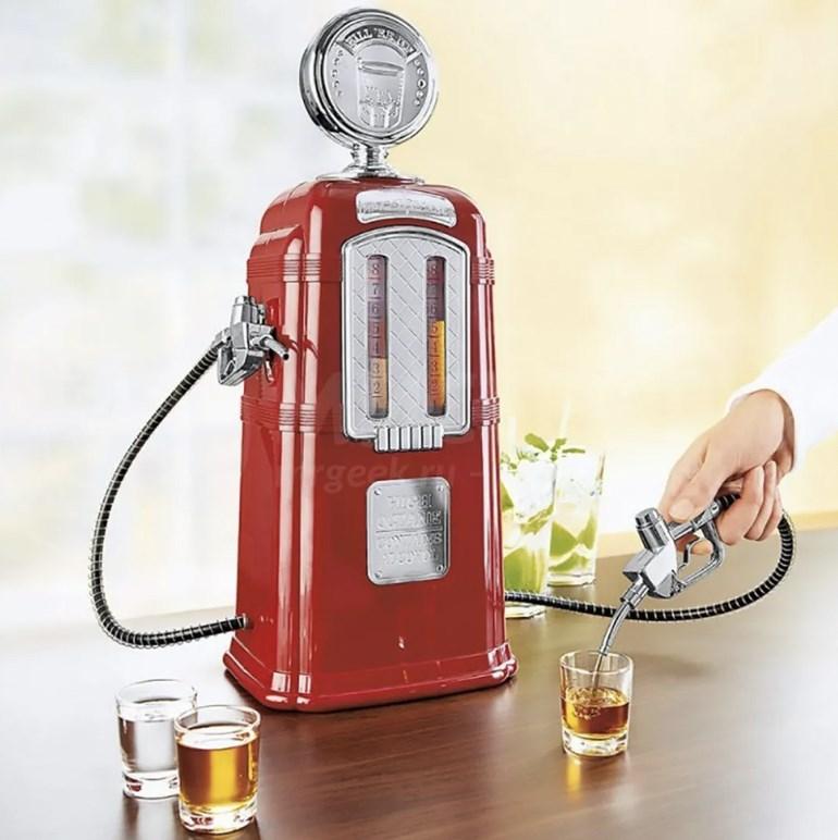 Диспенсер для напитков Заправка Ретро