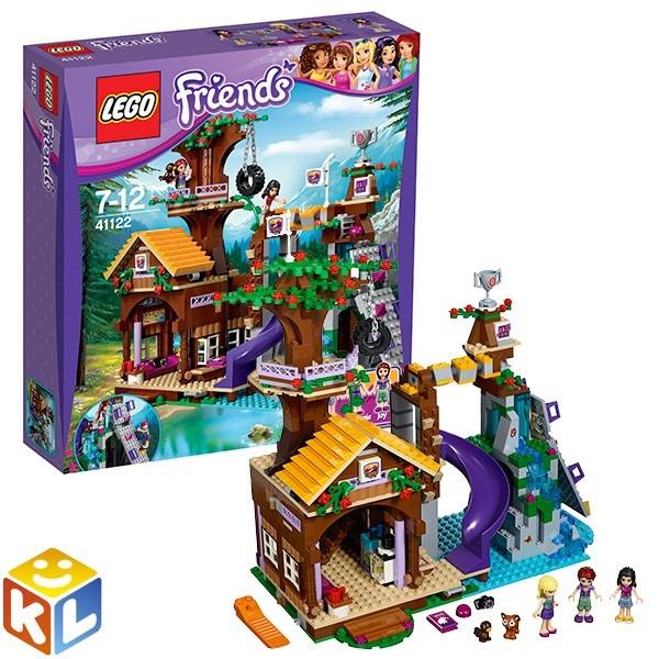 Конструктор Лего подружки Дом на дереве