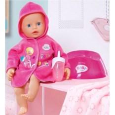 Кукла My Little Baby Born с горшком и бутылочкой