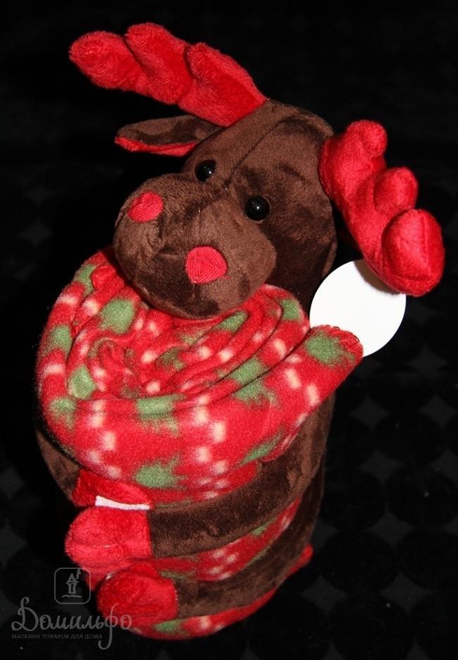 Плед детский с игрушкой Reindeer Big