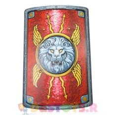 Детский красный щит легионера со львом
