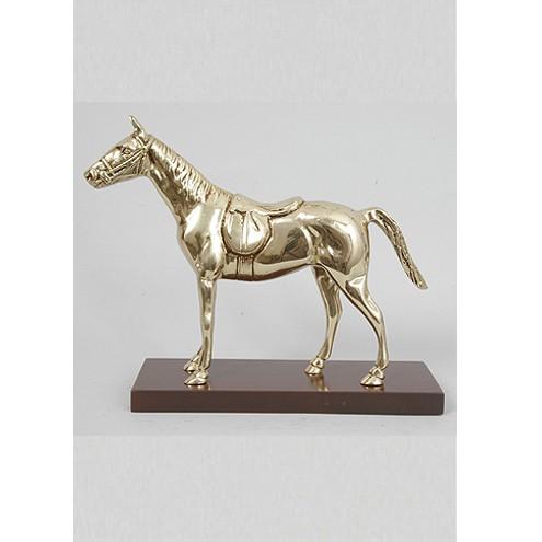 Бронзовая статуэтка Лошадь на подставке