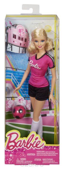 Кукла Барби. Футболистка