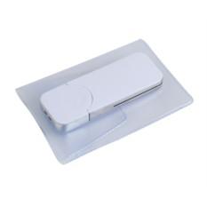Белая флешка Big в подарочной коробке