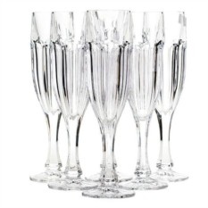 Набор из 6 фужеров для шампанского 150 мл Сафари