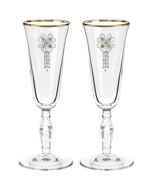 Набор свадебных бокалов Ретро №27